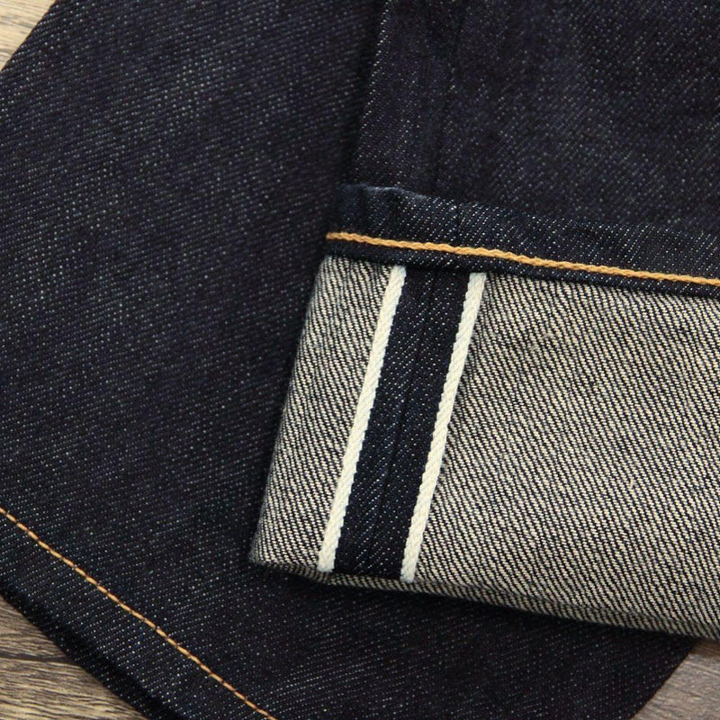 13oz One Washed Premium Dark Indigo Selvedge Denim