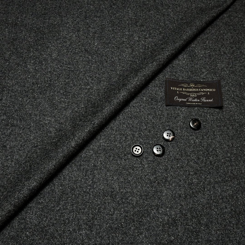 Tailored Business Trousers - Vitale Barberis Canonico Woolen Flannel (Made to Order)