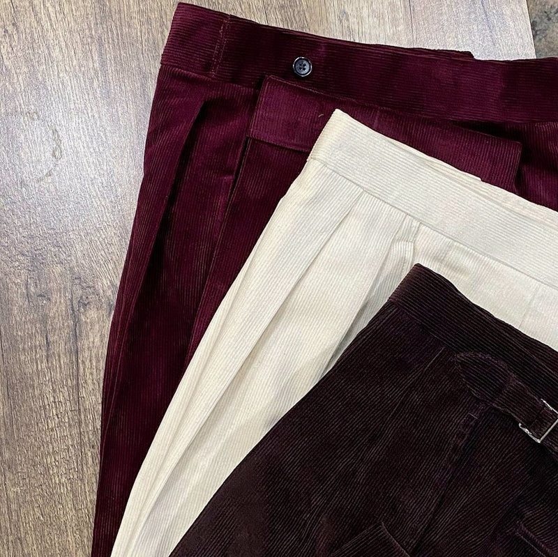 Everyday Corduroy Chinos (Made to Order)