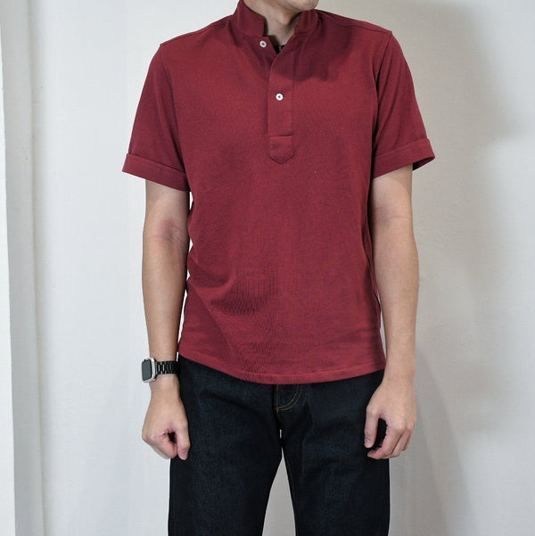 Oriental Polo Shirt Short Sleeves (Made-to-Order)