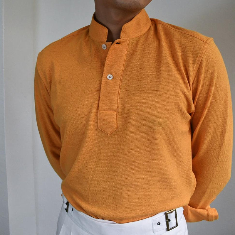 Oriental Polo Long Sleeves (Made-to-Order)
