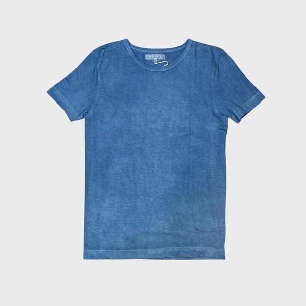 GOOD ORIGINALS |  215 Men's Crew Neck T-Shirt, Indigo