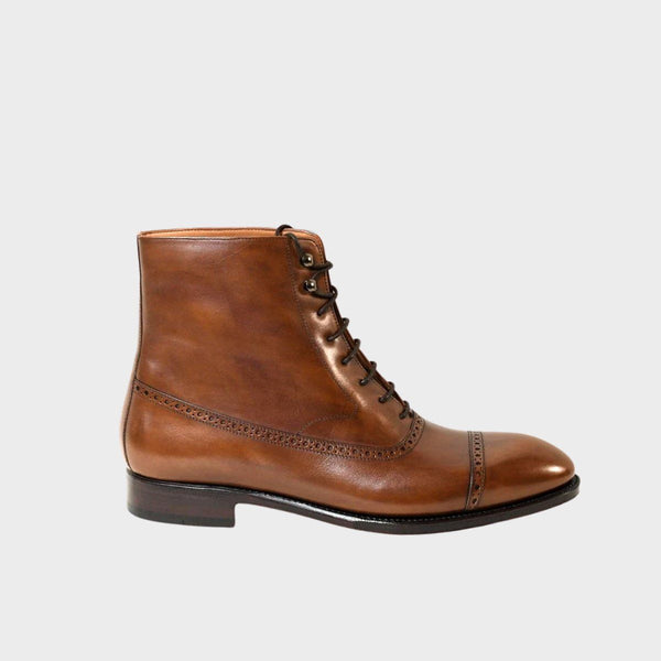 ORSON Oxford Balmoral boot in Old England Brown