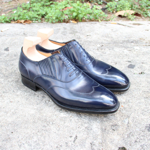 Lazyman Austerity Wingtip with Faux Laces