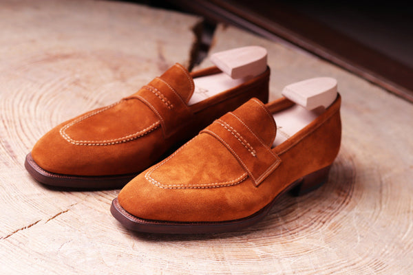 NAPIER IN MID BROWN SUEDE