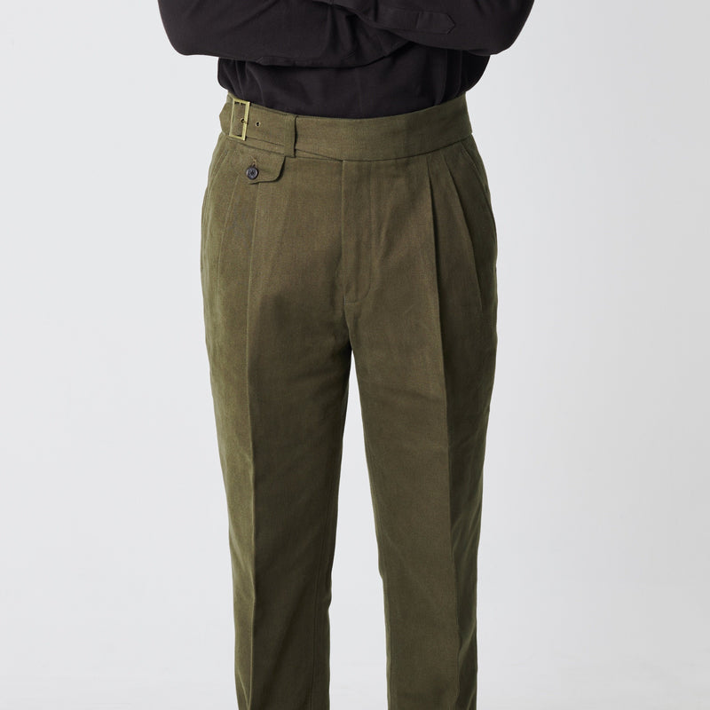 Duck Cotton Canvas Gurkha Trouser