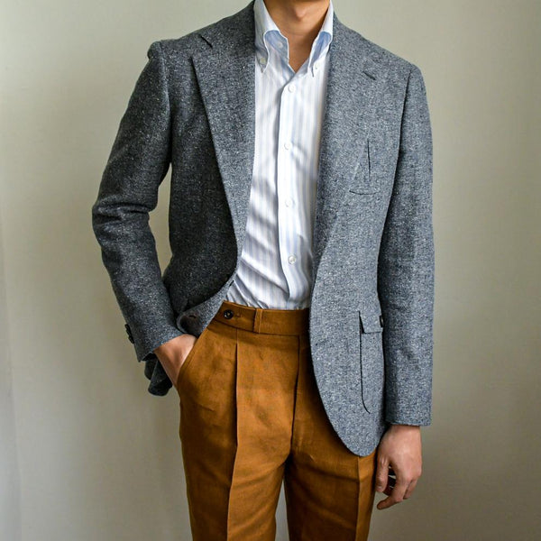 Standeven Summer Donegal Tweed Unstructured Jacket