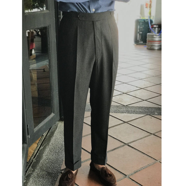 Tailored Business Trousers Vitale Barberis Canonico 21 Micron (Made to Order)