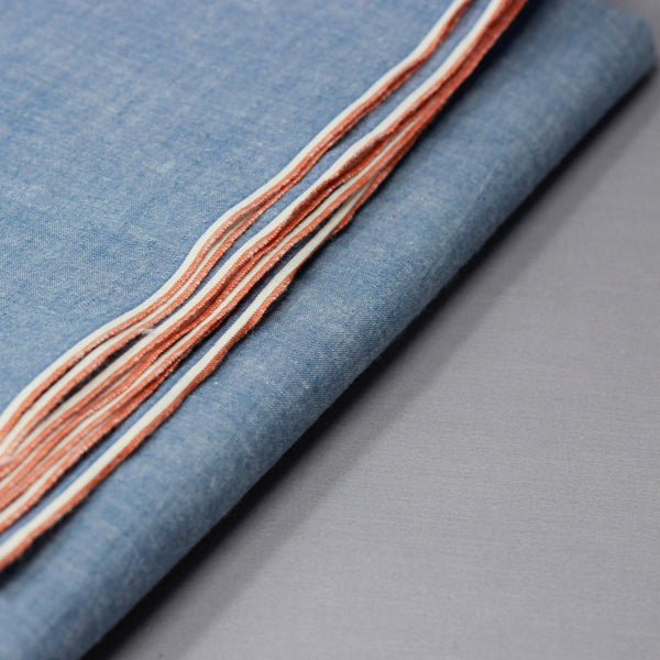 Vintage Light Chambray Selvedge Shirting
