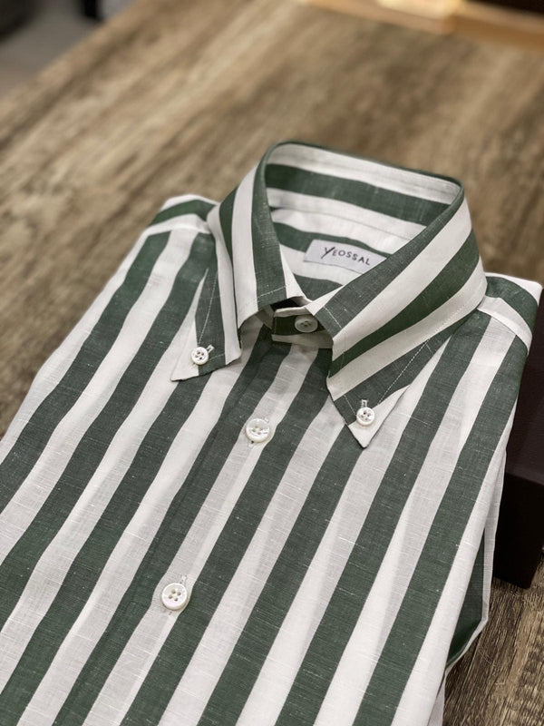 CACCIOPOLLI COTTON LINEN SHIRTS