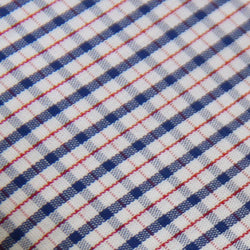 Thomas Mason Red/Navy Checks