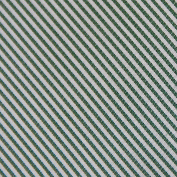 Thomas Mason Green Stripes