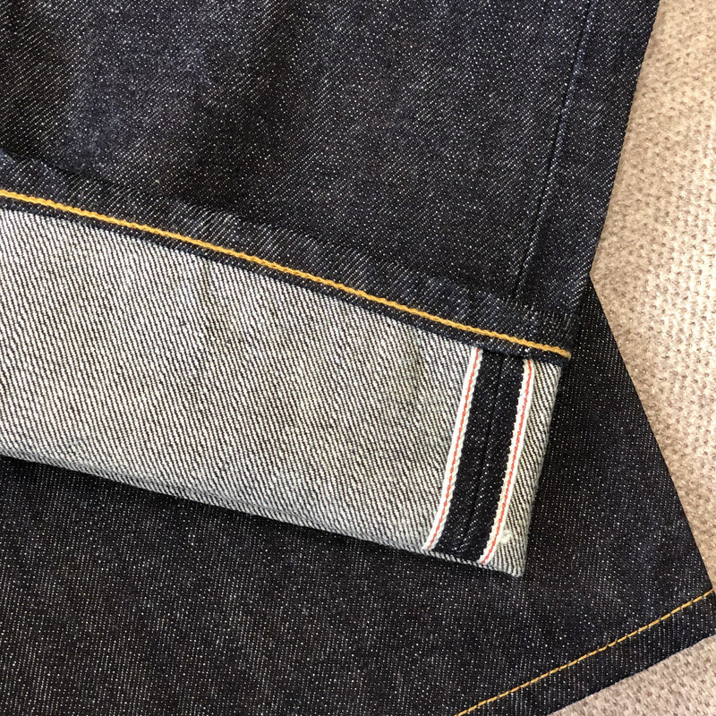 15oz One Washed Premium Slub Selvedge Denim