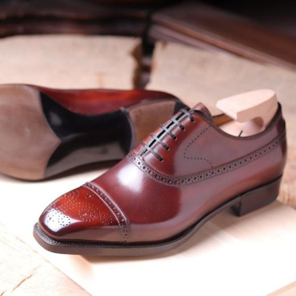 DALVEY BALMORAL IN ANTIQUED BROWN