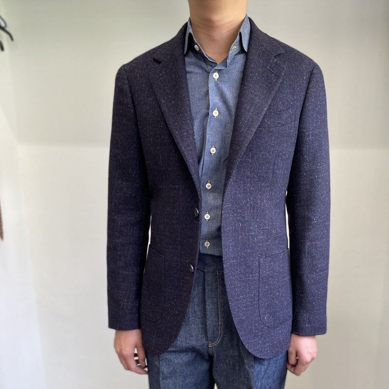 VBC Flannel Unstructured Jacket (Made to Order)*