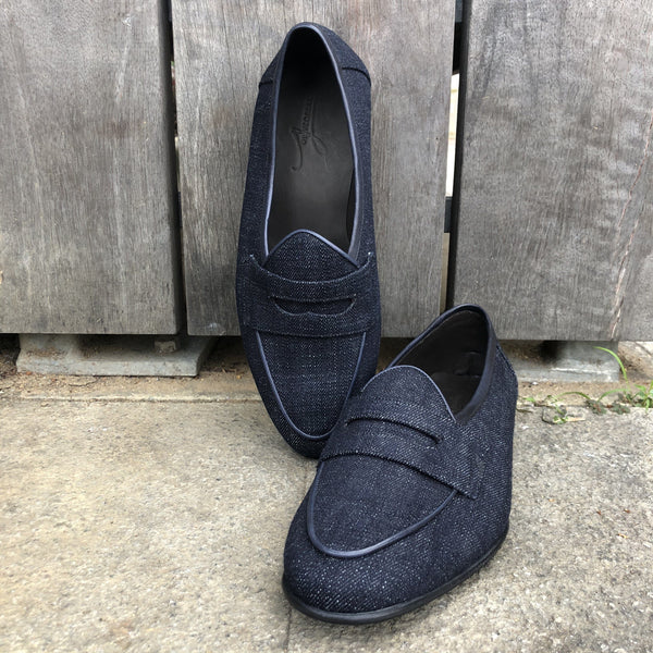 Collect Mills Denim Penny Loafer