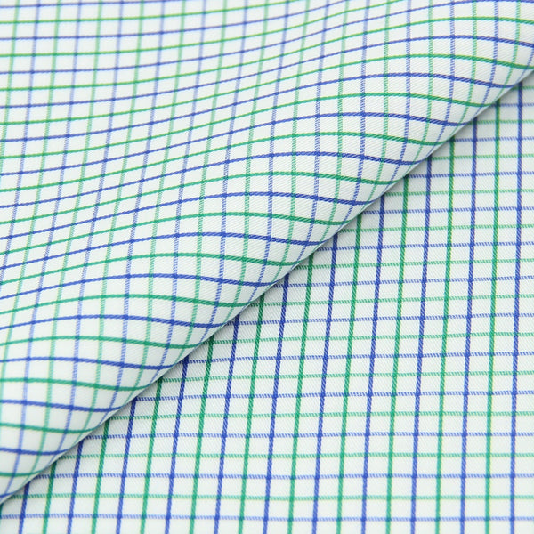 Green/Blue Checks (Made to Order)
