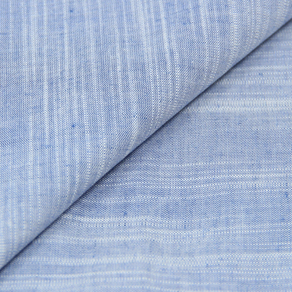 Horizontal Wrap Blue Chambray  (Made to Order)