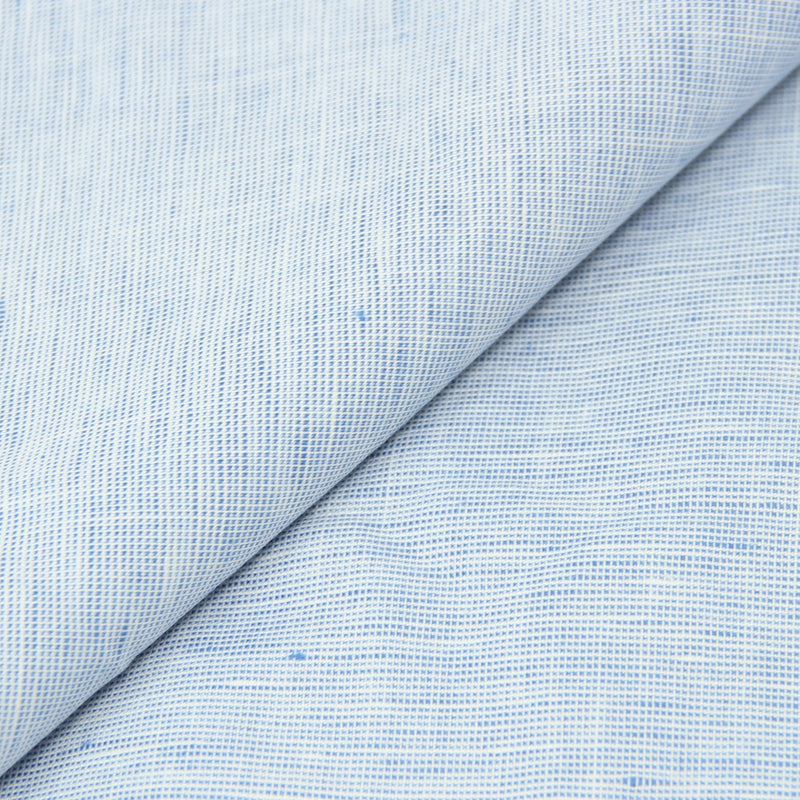 Ice Blue Chambray Linen (Made to Order)