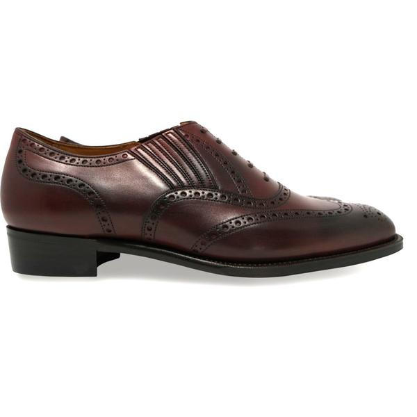 Corno blu - Leo in Dark Burgundy Calf - Yeossal