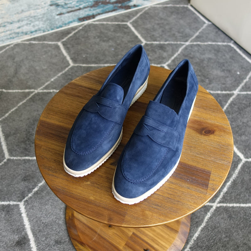 Travel Loafer in Baby Suede