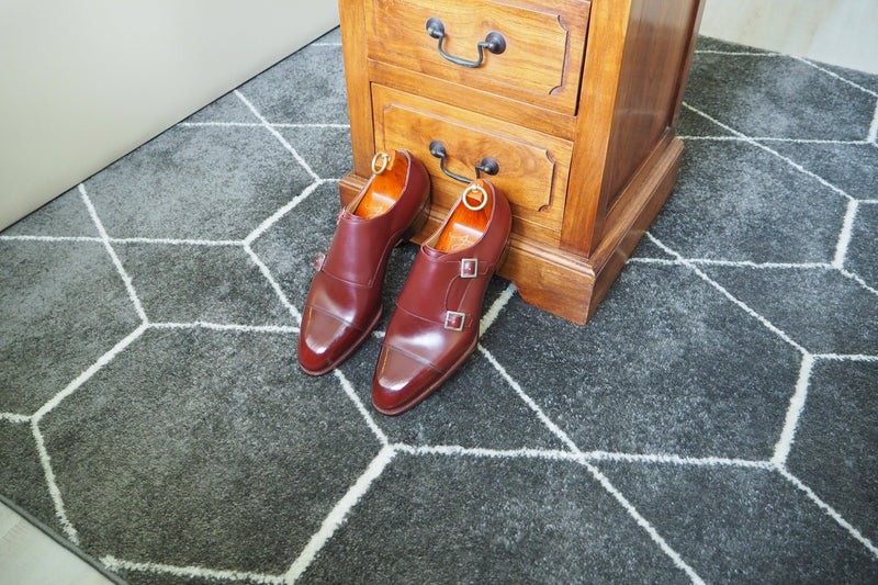 JERVOIS DOUBLE MONK IN CHERRY RED