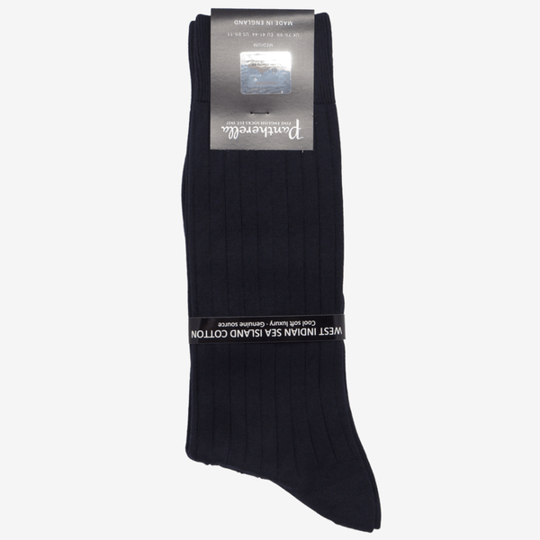 Pantherella - Pembrey Sea Island Cotton Socks - Yeossal