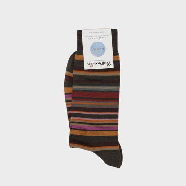 Quakers All Over Stripe Men's Socks