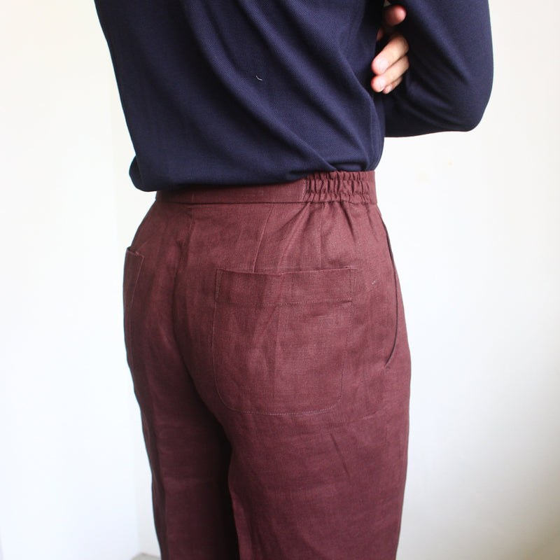 Cotton Drawstring Trousers (Made to Order)