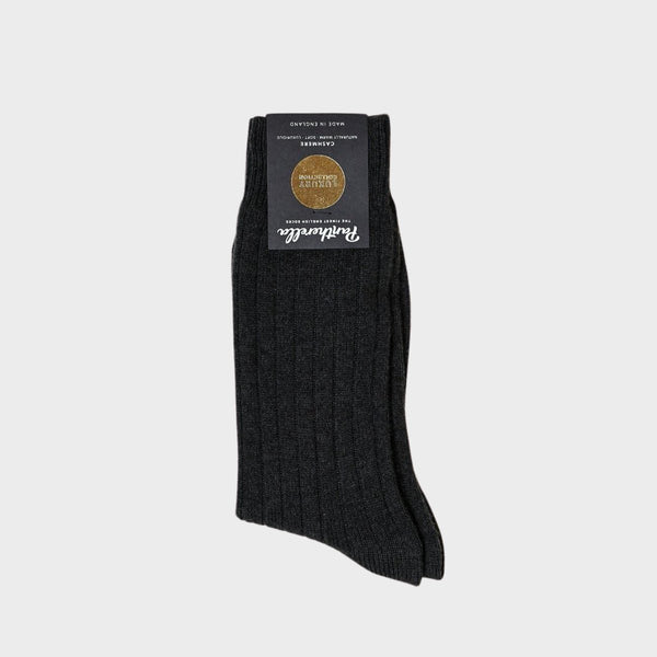 Waddington Cashmere Rib Men's Socks