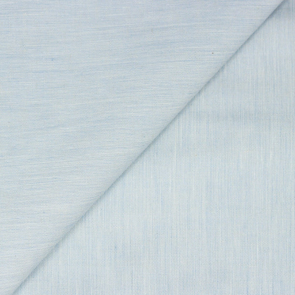 Vintage Ice Blue Chambray Selvedge Shirting