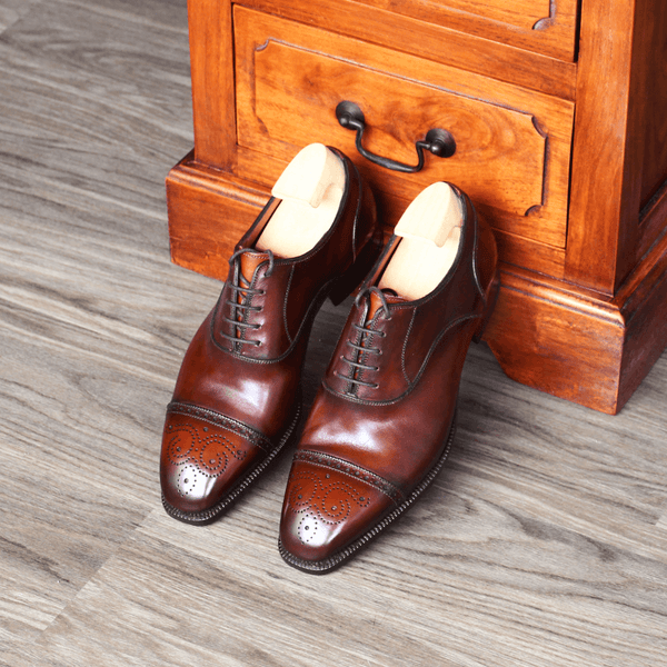 Antonio Meccariello - Medallion Oxford in Brogues - Yeossal