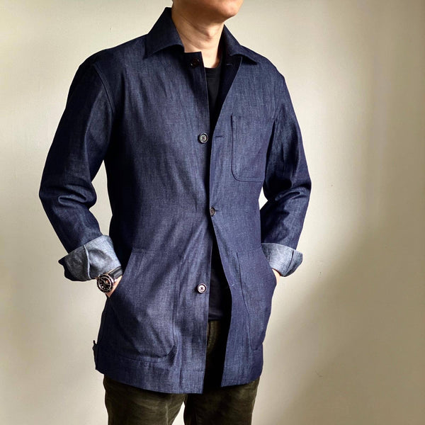 Indigo Denim Chore Coat (Made to Order)