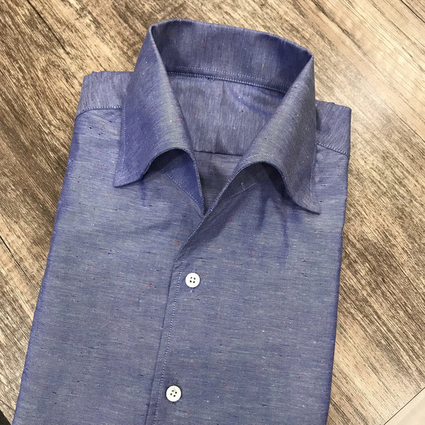 Tessitura Monti Donegal Chambray