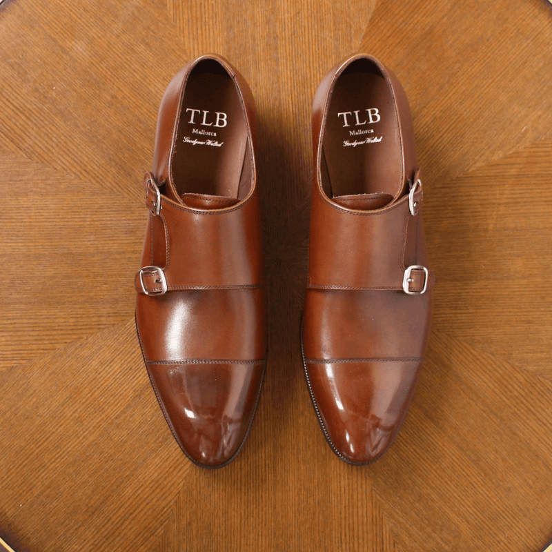 TLB Mallorca - KEATON Double Monk Brown Calf - Yeossal