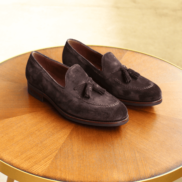 TLB Mallorca - LANCASTER Loafer Dark Brown Suede - Yeossal
