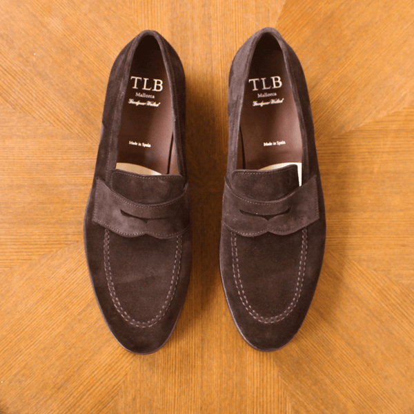 TLB Mallorca - MARTIN Loafer Dark Brown Suede - Yeossal