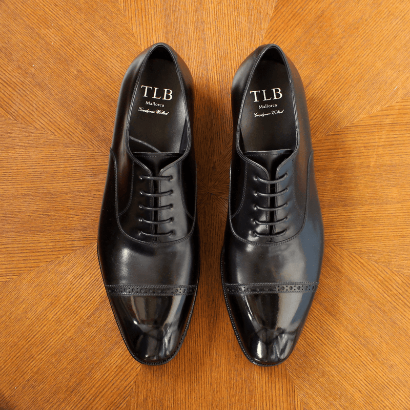 TLB Mallorca - MURPHY Oxford in Black - Yeossal
