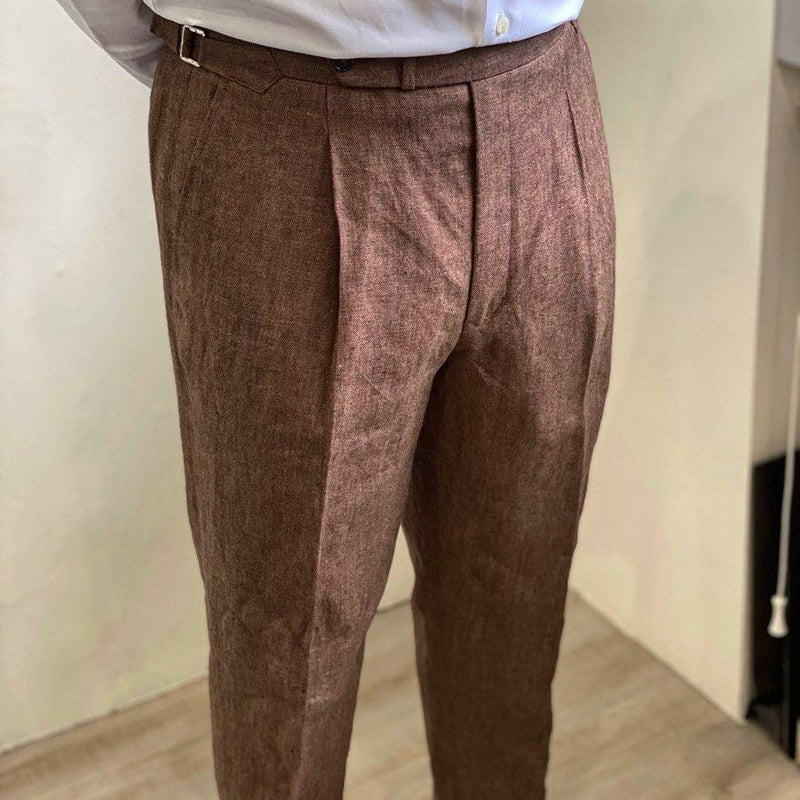 Everyday Linen Chinos (Made to Order)