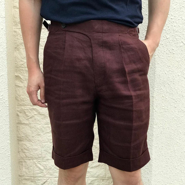 Linen Shorts (Made to Order)