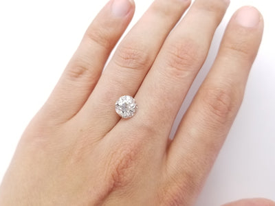 2.38CT K SI2 GIA GRADED OLD EUROPEAN BRILLIANT DIAMOND - SinCityFinds Jewelry