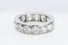 3.01CTW OSCAY HEYMAN ETERNITY BAND IN PLATINUM - SinCityFinds Jewelry