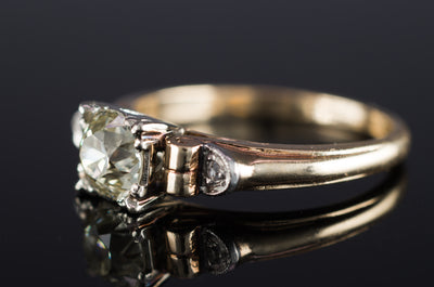 VINTAGE OLD EUROPEAN CUT DIAMOND RING - SinCityFinds Jewelry