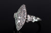 VINTAGE OLD CUT DIAMOND NAVETTE RING - SinCityFinds Jewelry