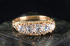 1.99CTW FIVE STONE MINE CUT DIAMOND BAND