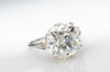 5.38CT OLD EUROPEAN CUT DIAMOND RING GIA L VS2