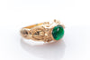 EMERALD CABOCHON GYPSY RING
