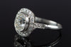 1.65CTW ANTIQUE CUSHION DIAMOND RING - SinCityFinds Jewelry