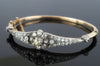ANTIQUE OLD MINE CUT DIAMOND BANGLE