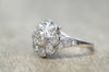 1.8CTW ANTIQUE OLD MINE CUT DIAMOND ENGAGEMENT RING - SinCityFinds Jewelry